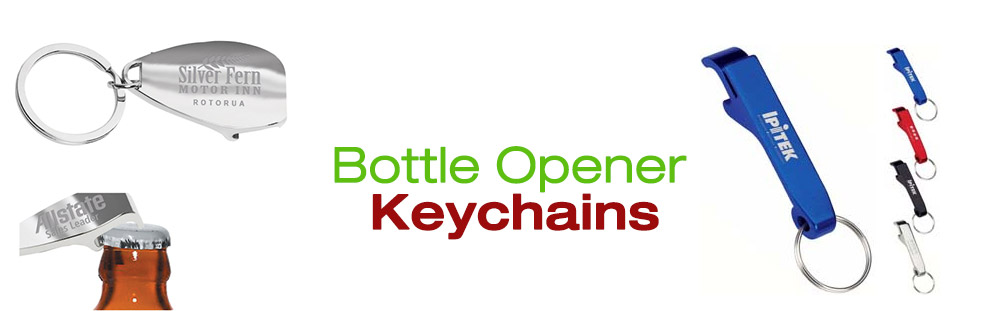 Beer Bottle Opener promotional keychain