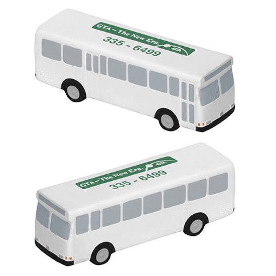 Promotional Metro Bus Stress Ball