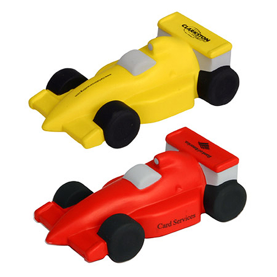 Promotional Race Car Stress Ball