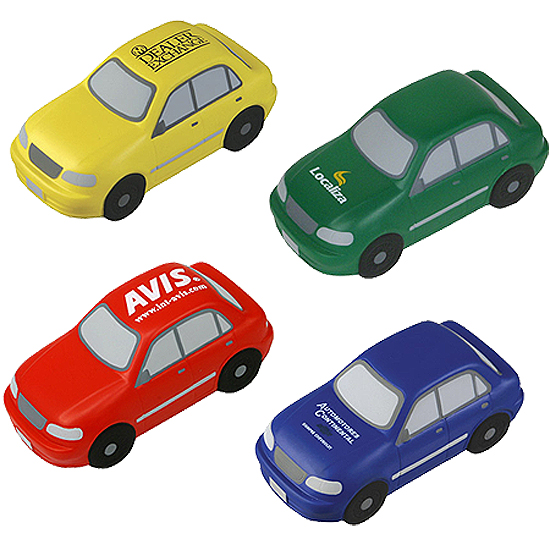Promotional Sedan Stress Ball