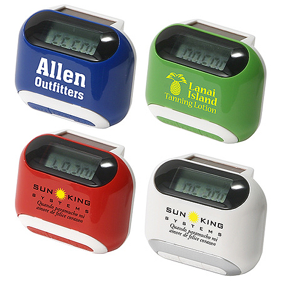 Promotional Solar Powered Pedometer