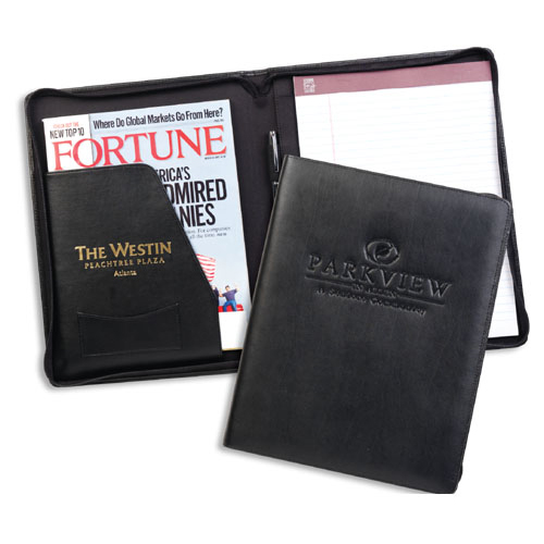 Promotional Zippered Decision Maker Portfolio