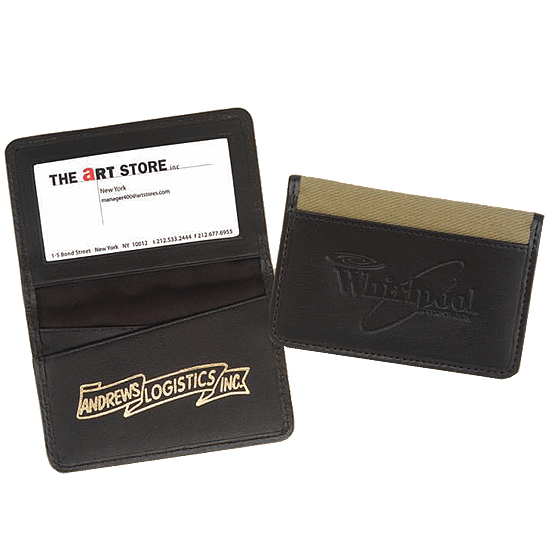 Promotional Nantucket Business Card Case