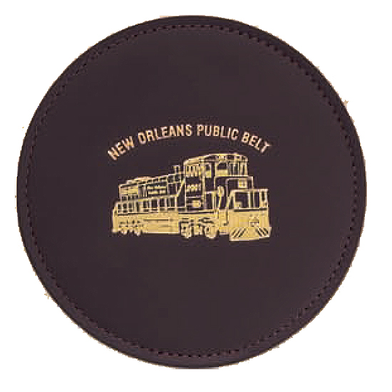 Promotional Cowhide Coaster