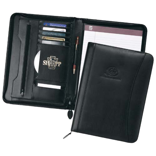 Promotional CEO Zippered Portfolio