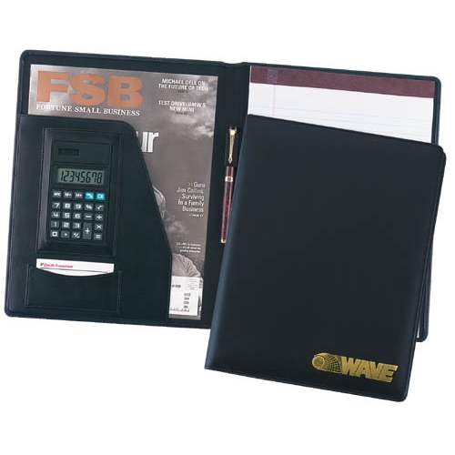 Promotional Leather Calc-U-Folio