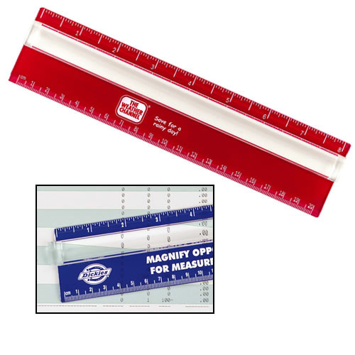 Promotional Eight-Inch Measureview Ruler