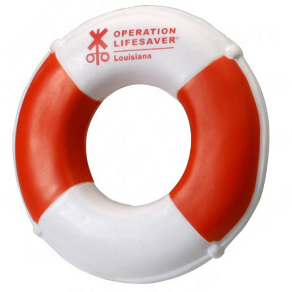 Promotional Life Preserver Stress Ball