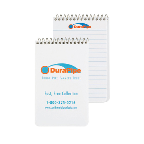 Promotional Pocket Coil Notebook - Imprinted Pages