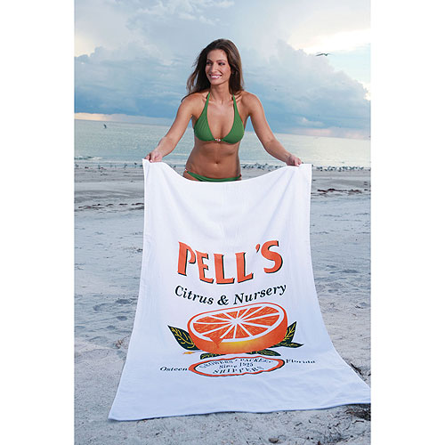Promotional Classic Beauty Dyed Terry Beach Towels