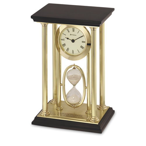 Promotional Executive Duet Clock