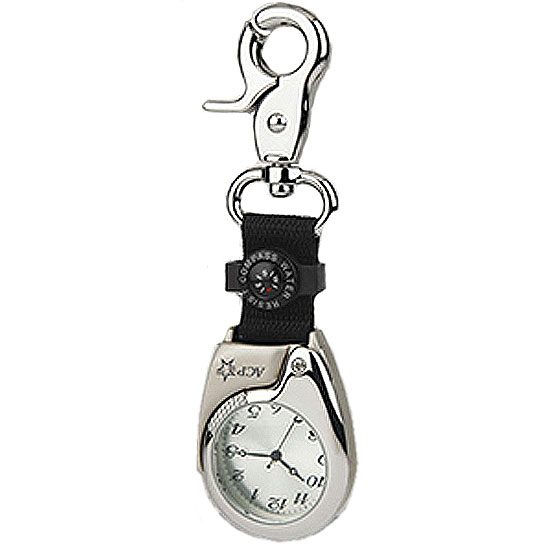 Promotional Keychain Pocket Watch & Compass