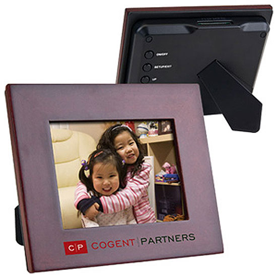 Promotional Wooden Digital Frame - 3.5