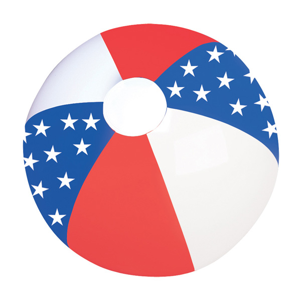 Promotional American Flag Beach Ball
