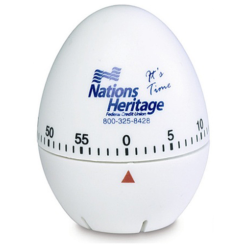Promotional Egg Shaped Kitchen Timer