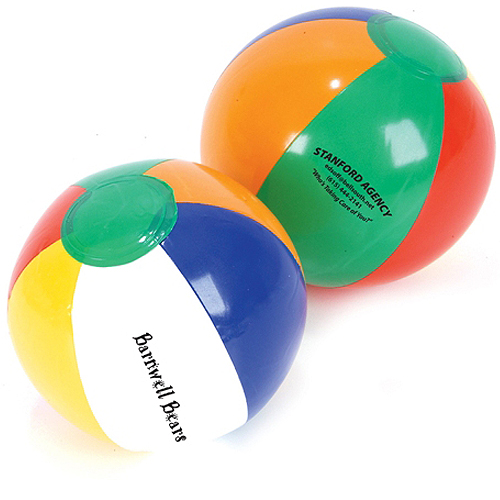 Promotional 16 Inch Multi Color Beach Ball