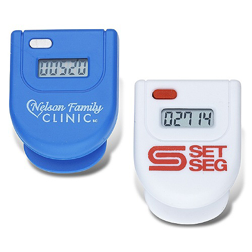 Promotional Step Counter with Belt Clip