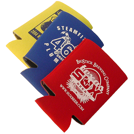 Promotional Pocket Can Holder Coozie