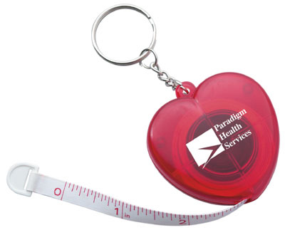Promotional Heart Cloth Tape Measure