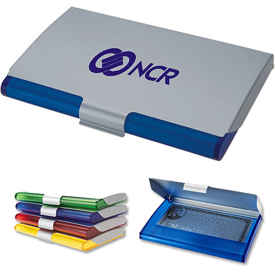 Promotional Aluminum & Translucent Card Holder