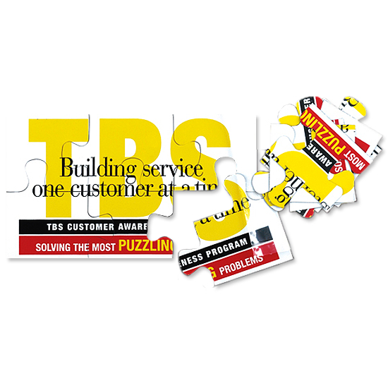 Promotional Jumbo Business Card Puzzle Magnets