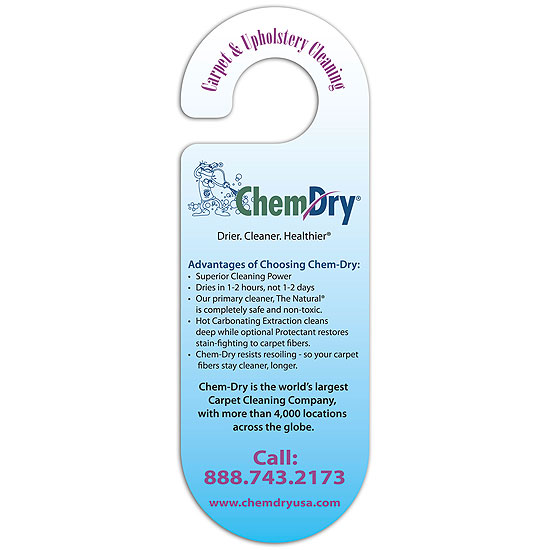 Promotional Oval Door Hanger