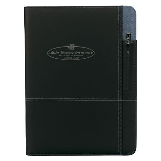 Promotional Contrast Padfolio
