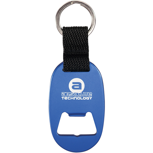 Promotional Omicron Key Ring with Opener