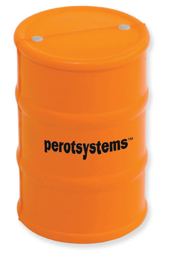 Promotional Safety Barrel Stress Ball