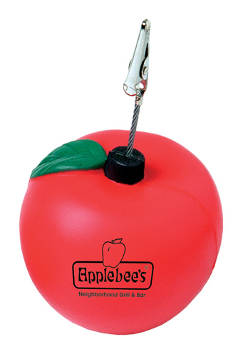 Apple Stress Reliever/Memo Holder