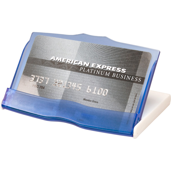 Promotional Translucent Card Holder