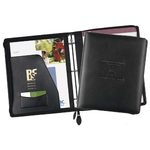Promotional Exec-U-Line Zippered Ring Binder