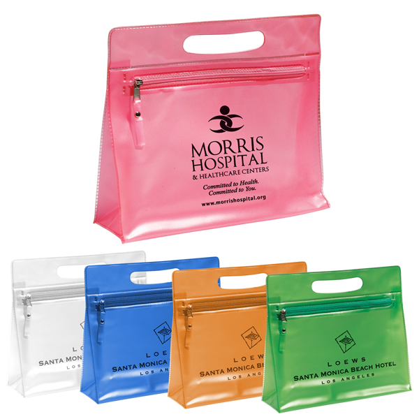Promotional Mayberry Zippered Amenities Bag