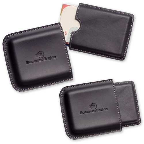 Promotional Metropolitan Business Card Holder