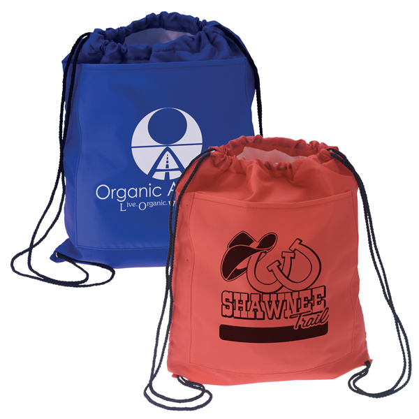 Promotional Drawstring Cooler Backpack