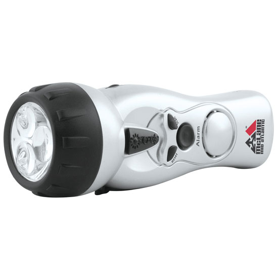 Promotional Dynamo Self Charging FM Flashlight Radio