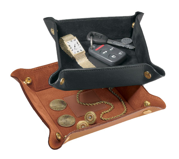 Promotional Leather Travel Valet Tray