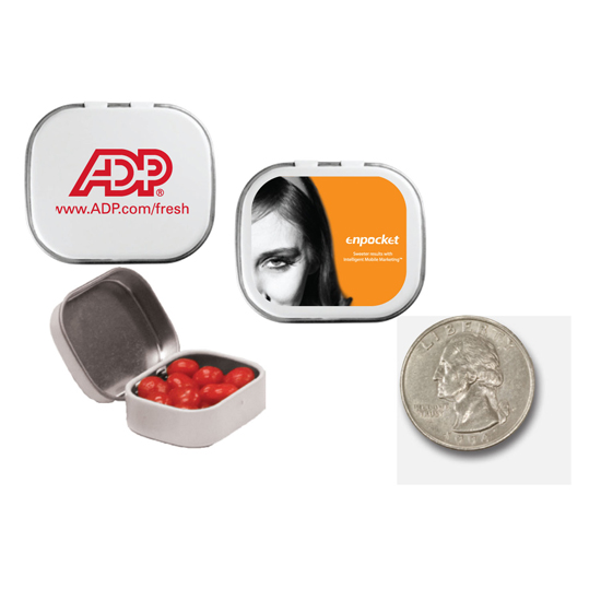 Promotional Mini Candy Tin