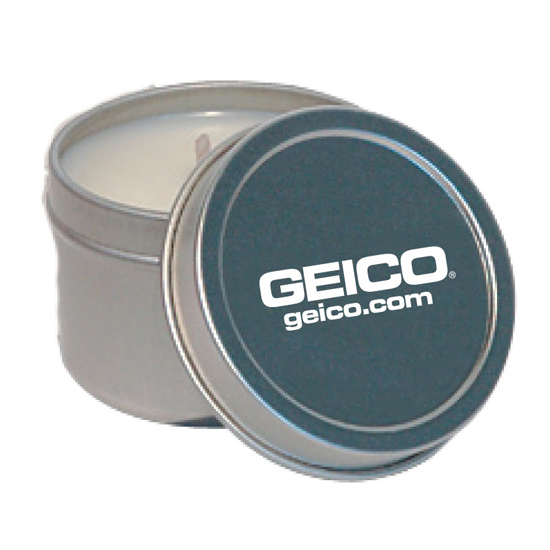 Promotional Soy 2 Oz Candle Tin