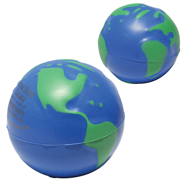 Promotional Earthball Stress Ball