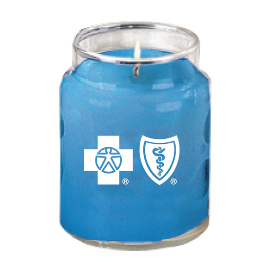 Promotional Country Glass Soy Candle-6 oz.