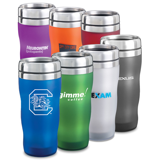 Promotional Royal Satin Wave Tumbler