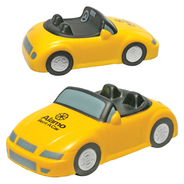 Promotional Convertible Car Stress Ball