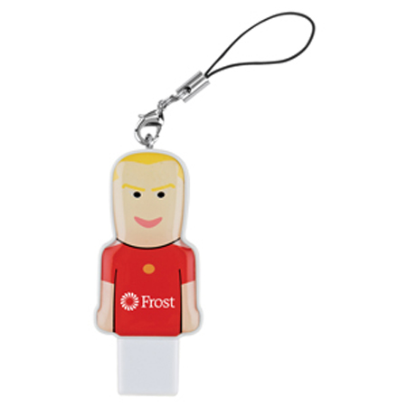 Promotional Sports Player USB Mini People