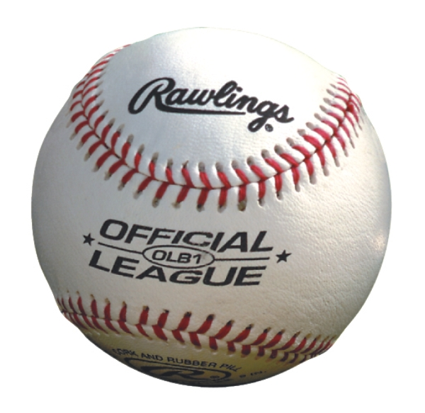 Promotional Rawlings Leather Baseball