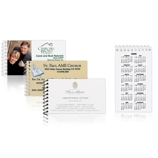 Promotional Business Card Notebooks