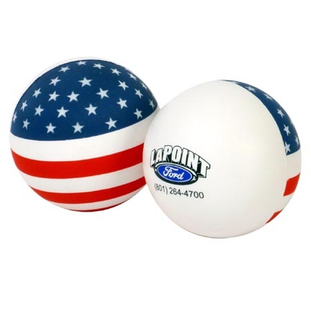 Promotional Stress Ball Flag