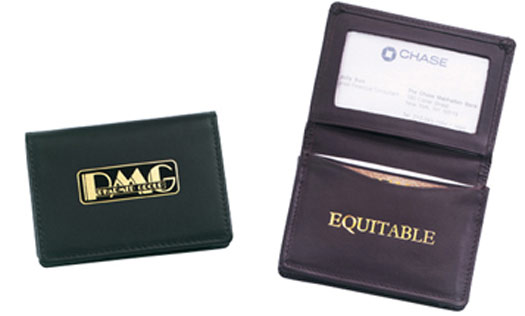 Promotional Deluxe Business Card Case