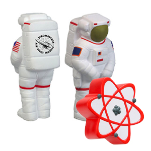 Space & Science Stress Balls