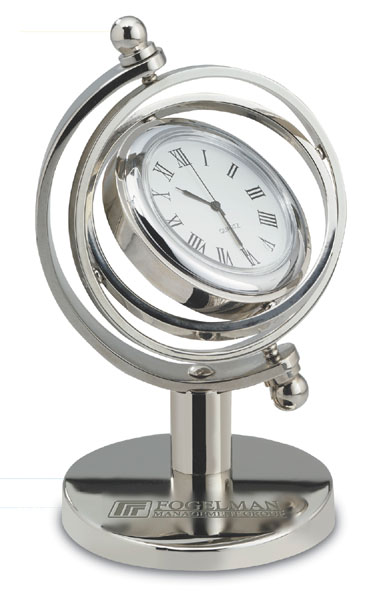 Promotional Gimbled Quartz Clock